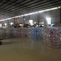 1.5M Transparent  Inflatable Bumper Bubble Ball /  Inflatable Bumper bBall  In The Grass Manufactures