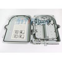 24 Port Outdoor Wall Mounted Fiber Optic Distribution Box With Extend Capacity Manufactures
