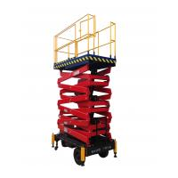 Quality Mobile Scissor Lift With 300Kg Loading Capacity with 11m working height for sale
