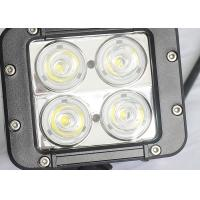 40W Offroad LED Work Lights , Beacon 4WD UTE SUV Jeep Driving Lights Manufactures
