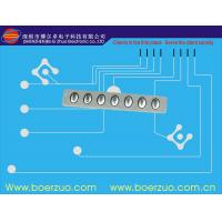 PET Silver Paste LED Membrane Switch  For Industrial Control Industry Manufactures