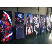 China Advertising LED Poster Screen / Led Light Box Display Stand 640*1920mm on sale