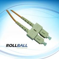 SC to SC Singlemode Fiber Optic Patch Cord, Compliant with Telcordia GR-326-CORE / TIA / EIA / IEC Standard Manufactures