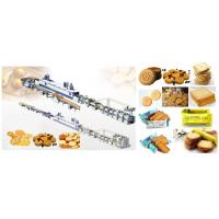 Soft And Hard Biscuit Processing Line , Commercial Automatic Cookie Making Machine Manufactures