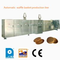 Buy cheap Fast Heating Up Oven Ice Cream Making Machine , Industrial Ice Cream Wafer Machine from wholesalers