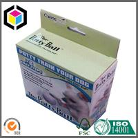 Glossy Lamination Custom Color Paper Box; Self Hanging Tab Corrugated Packaging Box Manufactures