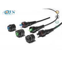 IP68 FTTX waterproof connector ODVA SC LC MPO Fiber Optic Cable Assemblies outdoor fiber optic patch cable Manufactures