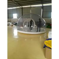 Inflatable Bubble Tent With Transparent PVC Tarpaulin For Party Manufactures