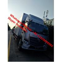 2018s new design FOTON AUMARK Euro 5 cold room truck, refrigerated van truck for fresh vegetables and fruits for sale Manufactures