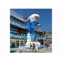 Quality Outdoor Event Inflatable Replica / Inflatable Smurf Character with Digital for sale