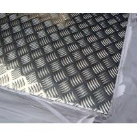 Anti -  Pollutant Diamond Tread Aluminum Sheet , Aluminium Chequer Plate Sheet  Manufactures