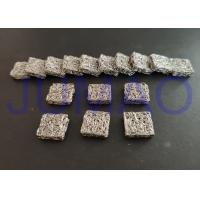 Square Aluminium Knitted Mesh Filters With Low Frequency Magnetic Shielding Manufactures