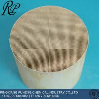 China ceramic honeycomb for catalystic supplier on sale