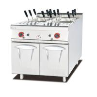 Gas Pasta Cooker With Cabinet Western Noodle Fast Cooking Kitchen Equipment Manufactures