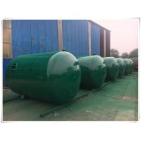 Horizontal Air Receiver Tanks For Compressors , Stainless Steel Pressure Vessel Manufactures