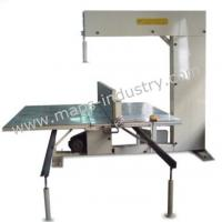 China Vertical Industrial Foam Cutting Machine 1320 * 2290 Mm Inner Work Table on sale
