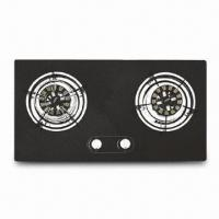 Gas Hob Built-in, Made of Tempered Glass, 3.8/3.8kW Rated Thermal Flow, 683 x 352mm Cut Size Manufactures