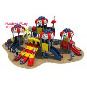 EU Standard Outdoor Playground Slides Kindergarten 36 Volume Cubic Meter for sale