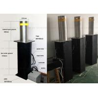 Full Automatic Steel Rising Removable Bollards Systems For Building Security Manufactures