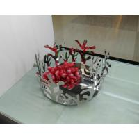 China resin fruit tray,fruit holder, decorative tray,modern home decoration on sale