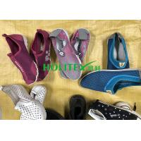 Popular Second Hand Womens Shoes , Clean Used Canvas Shoes For Summer Manufactures