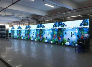P3.91 Full Color IP40 1920Hz Led Stage Display Screen Manufactures