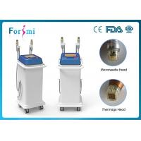 Vertical easy to delegates skin rejuvenation microneedle infini rf fractional micro needle rf machine Manufactures