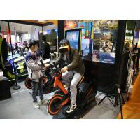 Arcade Games Machines Virtual Reality Bike With 9D VR 360 Degree 3D Glass Headset