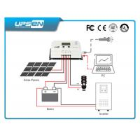 Auto cool Solar Charger Controller , 12 volt solar panel charge controller Manufactures