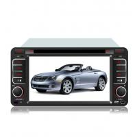 In Dash GPS Navigation System For Toyota Universal Car Wince 6.0 Core Manufactures