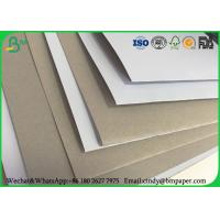 100 x 70 cm 170gsm 180gsm 230 grs / M2  white side coated duplex board grey back suitable for inject print Manufactures
