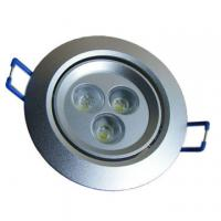 Cool white 6500 -6700K LED Ceiling Light Fixtures with 3W Power and 50000-hour Lifespan Manufactures