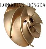 Customized OEM Brass Foundry Castings , Brass Centrifugal Pump Impeller Manufactures