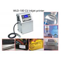 High Efficiency Beverage Continuous Inkjet Printer For Batch Coding / Label Coding Manufactures