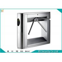 RFID Reader Tripod Turnstile Gate Automatic Security Barrier Turnstiles Manufactures