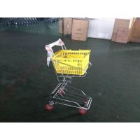 Chrome plated Shopping Basket Trolley , personal shopping cart Manufactures