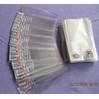Quality High Transparency BOPP Plastic Bags Resealable Cello Bags For Small items for sale