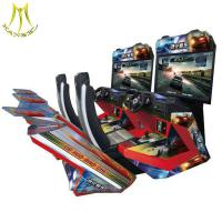 China Hansel high quality indoor simulator arcade car racing/driving game machine on sale
