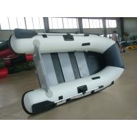 Lightweight Marine Foldable Inflatable Boat With Electric Trolling Motor Manufactures