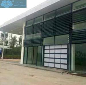 2m Panel Glass Panel Garage Doors Manufactures