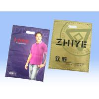 Retail Large Sealable Plastic T Shirt Bags , Recycled Plastic Bag Packaging Manufactures