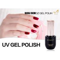 10ml 15ml 30ml UV LED Gel Nail Polish For Uv Light Eco Friendly Sample Provided Manufactures