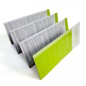 Quality Glossy / Matt lamination, Art / Fancy / duplex board paper Colour Flyer Printing for sale