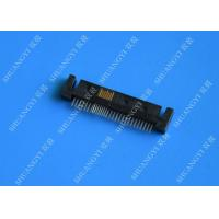 Server Serial Attached SCSI Connector , Rectangular SMT 12G / 6G SATA  SAS Connector Manufactures