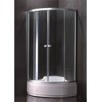 Custom Made Single Door Shower Enclosure Large Shower Stall With Entry Sliding Door Manufactures