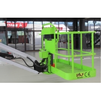 Max.Lifting height 95ft telescopic straight boom Lift with outreach 69ft Manufactures
