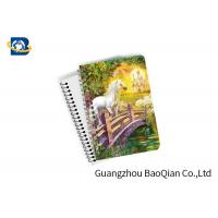 Unicorn Design Depth Effect A4 A5 A6 3D Lenticular Notebook For Student Stationery Eco-friendly Manufactures