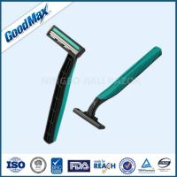 Rubber Handle Twin Blade Disposable Razor Any Color Available ISO Certificate Manufactures