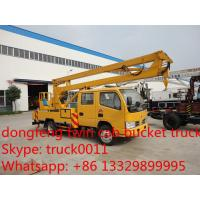 factory sale best price Dongfeng duolika high altitude operation truck,dongfeng couble cab 12m-16m bucket truck for sale Manufactures