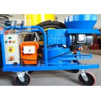 Compact Structure Cement Spraying Equipment , Spray Plaster Machine With Control Box Manufactures